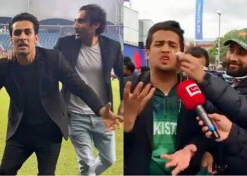 Momin Saqib is famous for his 'Mujhe Maaro' meme (Pic - Twitter)
