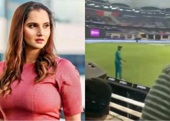 Sania Mirza reacts to the viral video (Pic - Twitter)
