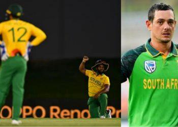 Quinton de Kock misses the match against West indies (Pic - Getty Images)